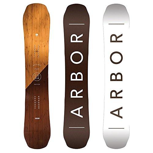 Arbor Coda Rocker Mid Wide Snowboard Mens Rocker Wide Snowboard