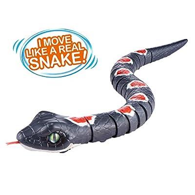 ROBO ALIVE Slithering Snake Grey Series 2: Toys & Games