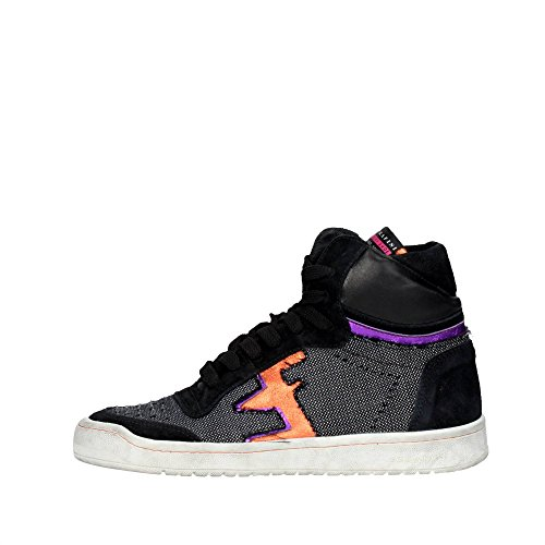 Serafini Gris Haute Sneakers Femme 9 Camp noir pFrqwpPU