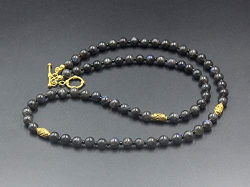 Labradorite Necklace, Men