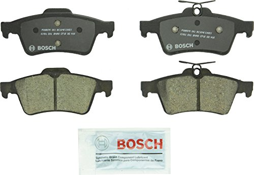 Brake Pad Shim Set - Bosch BC1095 QuietCast Premium Ceramic Rear Disc Brake Pad Set