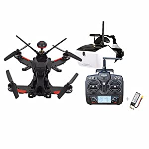 Walkera Runner 250 PRO GPS Racer Drone RC Quadcopter 800TVL HD Camera OSD DEVO 7 Transmtter 5.8G FPV Monitor Racing Drone (FPV Version) by Walkera
