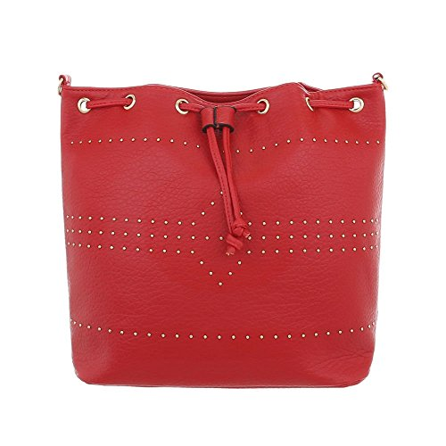 Design pour femme l'épaule porter Ital Rouge Sac à à Zgwvqw1Bx