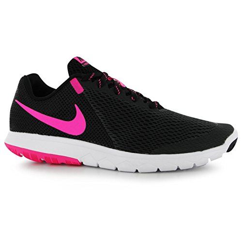 Nike Flex Erfahrung 5Laufschuhe Damen, Anthrazit/Rosa Turnschuhe Sneakers