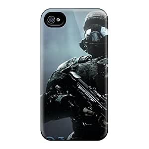 Luoxunmobile333 Scratch-free Phone Cases For Case Samsung Note 4 Cover - Retail Packaging - Halo Odst