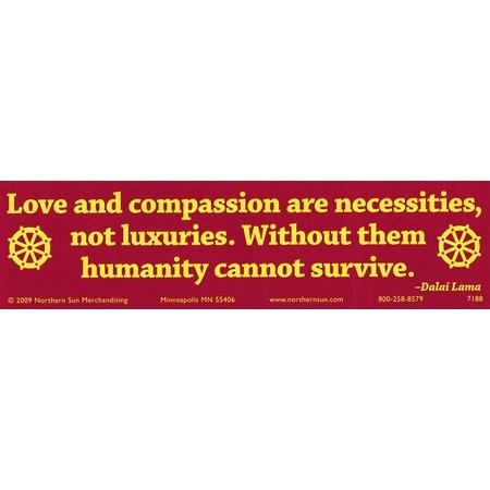 Compassion Sticker - Love & Compassion