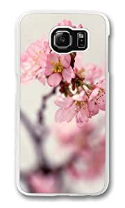 Blossom Twigs Polycarbonate Hard Case Cover for Samsung S6/Samsung Galaxy S6 Transparent