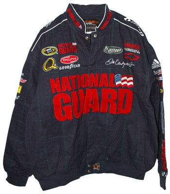 Dale Earnhardt Jr #88 National Guard Cotton Adult Jacket 3X ()