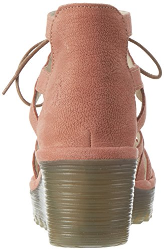 Rose Yeli719fly 005 para FLYA4 Sandals London Rosa Mujer Fly Heels TRwWpAq