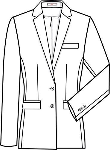 Blazer Negro Greiff Regular Fit 1413 Premium Mujer De qZESP