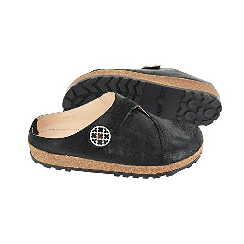 Used, Haflinger Women's LC Adventure Flat,Black,39 EU/8 M for sale  Delivered anywhere in USA