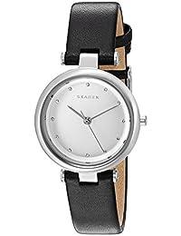 Skagen Women's Tanja SKW2467 Silver Leather Quartz Watch