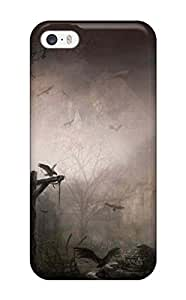 New Style Brooullivan Hard Case Cover For Iphone 5/5s- Scary Halloween