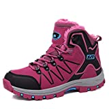 GIY Women's Outdoor Ankle Boots Lightweight Running Sneakers Lace Up Training Waterproof Sports