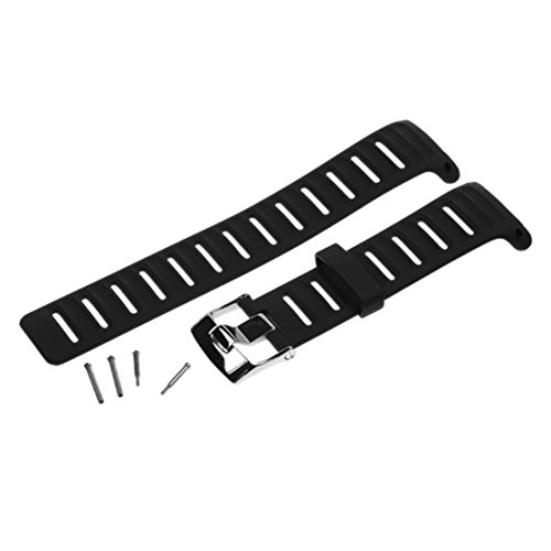 Suunto D4/D4I Rubber Strap Kit (Black)
