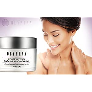 Best Hyaluronic Acid Cream Moisturizer for Face with Shea Butter & Ocean Complex. Reduce Wrinkles and Fade Age Spots.