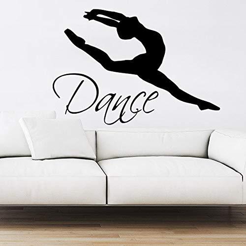 Dance Wall Decal Vinyl Sticker Decals Ballet Dancing Ballerina Gymnastics Wall Decal Quote Wall Decor Dance Studio Decor 43 30cm