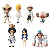 Japan Import One Piece World Collectable Figure -ONE PIECE FILM GOLD-vol.1 all seven set