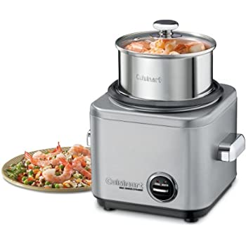 Amazon.com: Cuisinart CRC-400 4 Cup Rice Cooker, Stainless
