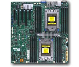 (Supermicro H11DSI-NT Dual SP3 sockets AMD Motherboard)
