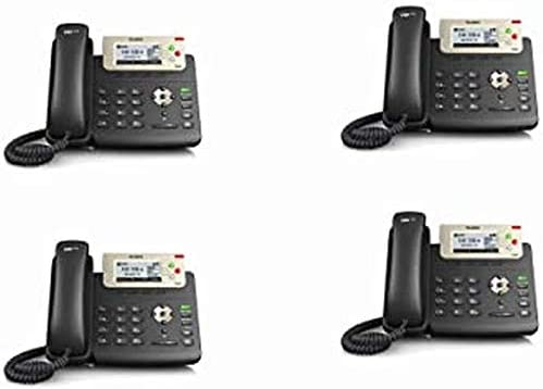 3 Lines SIP-T23G-2 Power Adapter Not Included Yealink T23G IP Phone Dual-Port 10//100 Ethernet 802.3af PoE 2-Pack 2.8-Inch Graphical LCD