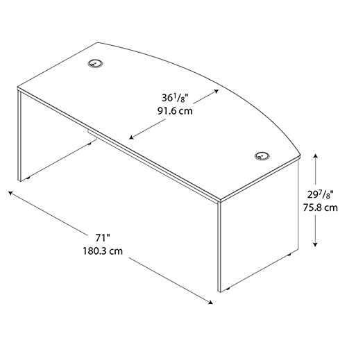 042976244460 - Series C:Bow Front Desk carousel main 3