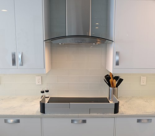 QDOS Adhesive Aluminum Stove Guard - Complements Modern Kitchen Designs - Fits Cooktops & Most Freestanding Stoves - Protects from Front & Sides - Easy to Install - Quick Removal for Cleaning by Qdos Safety (Image #6)