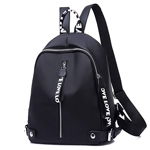 Women Backpacks For Teenage Girls Youth School Shoulder Bag Student Nylon Waterproof Laptop Multifunction Backpack,White ()