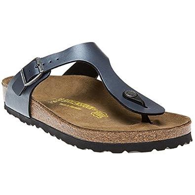 Birkenstock GIZEH VL Gris - Chaussures Sandale Femme