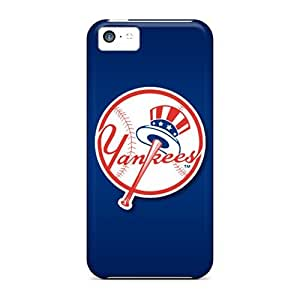Hot New York Yankees First Grade Tpu Phone Case For Iphone 5c Case Cover