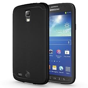Galaxy S4 Active Case, Diztronic Matte Back Black Flexible TPU Case for Samsung Galaxy S4 Active - Matte Black - (G4A-DM-BLK)