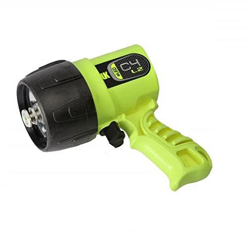 (Underwater Kinetics C4 eLED (L2) Dive Light, Safety Yellow)