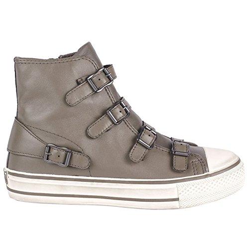 Ash Virgin Classic Buckle Trainer Shoe, Perkish, 7 (40)