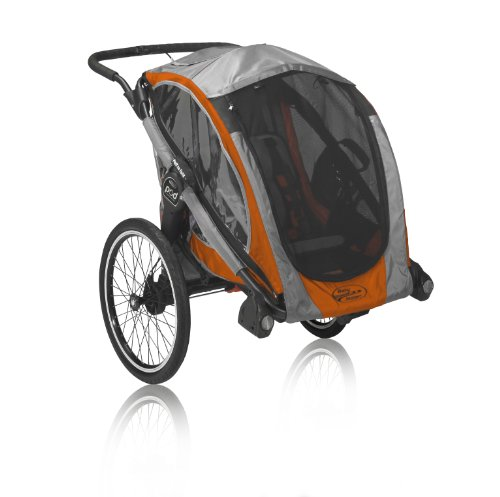 Baby Jogger POD Chassis, Orange/Gray (Conversion Double Pedal)