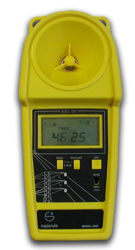 Megger CHM2000 Cable Height Meter, 6-Line Separation, 35' Maximum Range