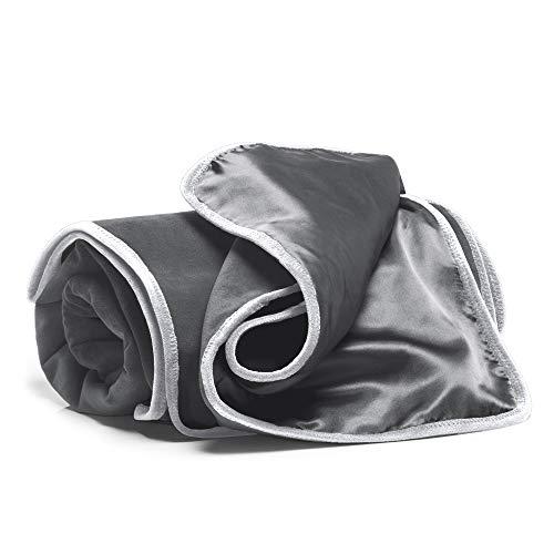 Liberator Fascinator Throw Moisture Proof Blanket, Charcoal