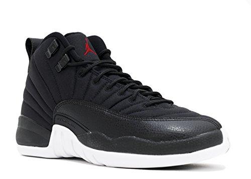 Jordan Nike Air 12 Retro Bg Nero / Rosso / Bianco 153265-004 (misura: 4a)