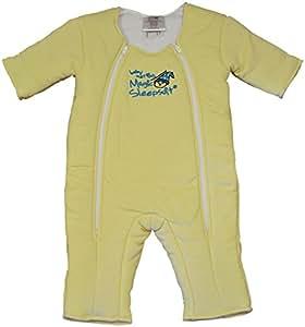 Baby Merlin's Magic Sleepsuit Cotton-Yellow-6-9months