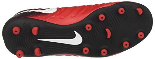 Nike Unisex-Kinder Jr Tiempo Rio Iv Fg Fußballschuhe Mehrfarbig (University Redwhiteblack)