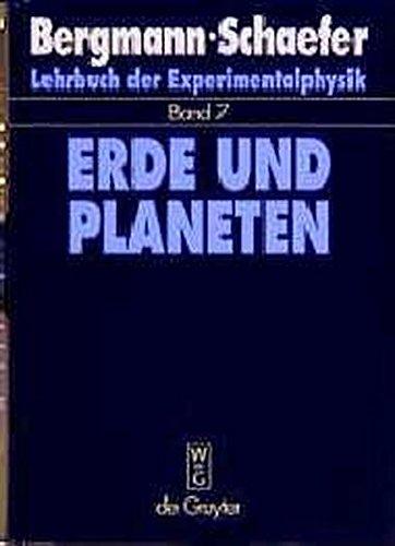 Lehrbuch der Experimentalphysik, Bd.7, Erde und Planeten