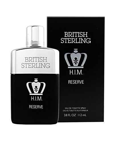 BRITISH STERLING H.I.M. RESERVE EAU DE TOILETTE SPRAY  3.8 FL. OZ. (Mens Stock Spice)