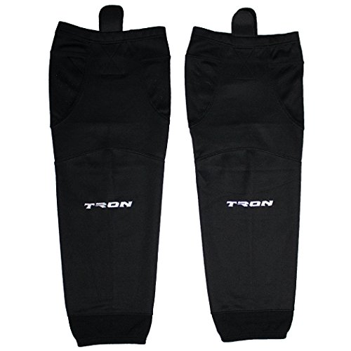 Tron SK100 Dry Fit Ice Hockey Socks (Black - 28 Inch)