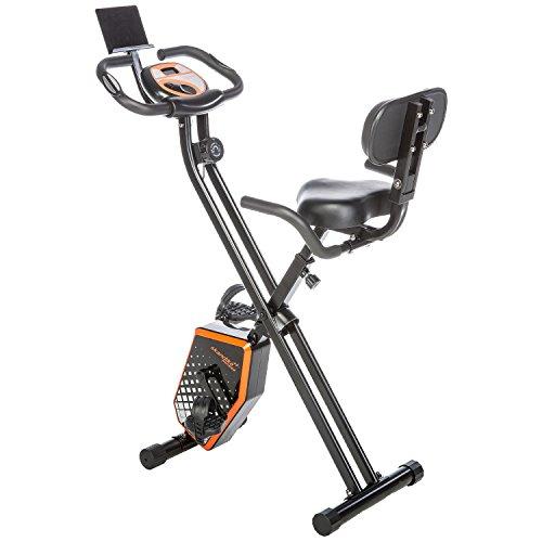 Skandika Foldaway Fitness Bike X1000 white