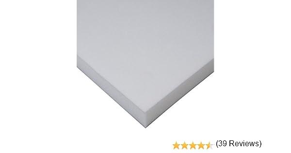 MICAMAMELLAMA Plancha de Viscoelástica para Topper Cubrecolchon Sin Funda (Grosor 4 CM) (80x180x4): Amazon.es: Hogar