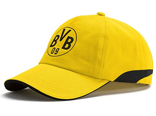 (German Bundesliga Borussia Dortmund PUMA Licensed AccessoriesOfficial License Supplier of Replica and On-Pitch Merch, Puma Black-Cyber Yellow, One Size)