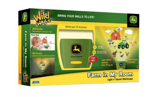 Amazon.com: Uncle Milton John Deere Wild Walls Farm In My Room Decor: Toys  U0026 Games Part 18