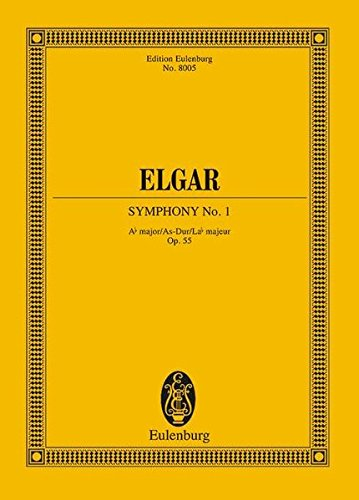 Symphony No. 1, Op. 55 in A-Flat Major: Score by Eulenburg