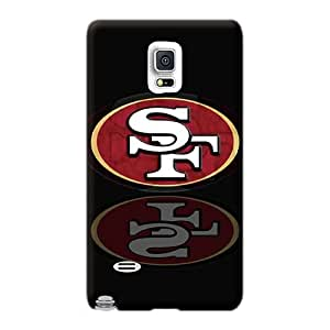Samsung Galaxy Note 4 NEn15305UsrK Provide Private Custom Vivid San Francisco 49ers Image Bumper Hard Cell-phone Case -AshtonWells