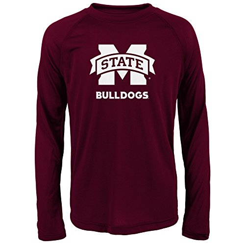 Gen 2 NCAA Mississippi State Bulldogs Youth Boys Loyal Fan' Performance Tee, Youth Boys Large(14-16), Brick (Mississippi Jersey State 15)