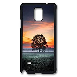 Morning Sunrise Light Protective Hard PC Snap On Case for Samsung Galaxy Note 4 -1122074
